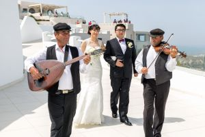 Sun  Zhang Wedding By Santorini8 Weddings9 Dragons Group 1