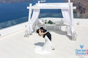 Sun  Zhang Wedding By Santorini8 Weddings9 Dragons Group 12