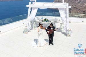 Sun  Zhang Wedding By Santorini8 Weddings9 Dragons Group 13