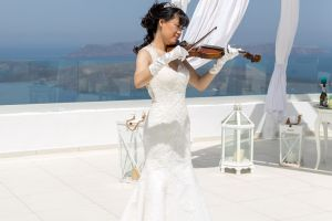 Sun  Zhang Wedding By Santorini8 Weddings9 Dragons Group 14
