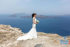 Sun  Zhang Wedding By Santorini8 Weddings9 Dragons Group 15