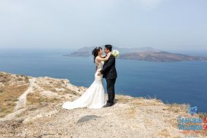Sun  Zhang Wedding By Santorini8 Weddings9 Dragons Group 16