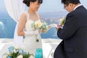 Sun  Zhang Wedding By Santorini8 Weddings9 Dragons Group 4