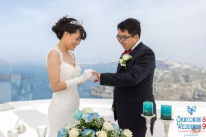 Sun  Zhang Wedding By Santorini8 Weddings9 Dragons Group 5