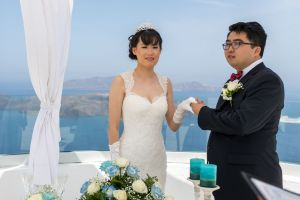 Sun  Zhang Wedding By Santorini8 Weddings9 Dragons Group 6