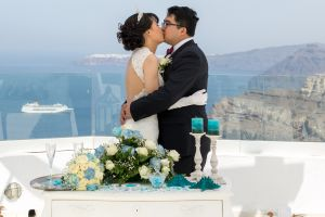 Sun  Zhang Wedding By Santorini8 Weddings9 Dragons Group 7
