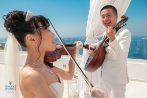 Wedding  Photo Shooting Jeffrey  Yanjie By Santorini8 Weddings9   Dragons Group 362